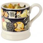 Emma Bridgewater Black Dresser 1/2 Pint Mug
