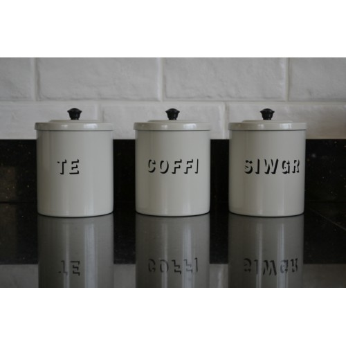 Gl Tea Coffee Sugar Canisters The Table