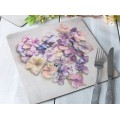 Mikasa Hush Square Placemats - Set of 4