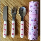 Emma Bridgewater Dancing Mice Children's Cutlery Set