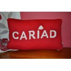 Cariad Red Welsh Cushion