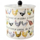 Emma Bridgewater Hen & Toast Biscuit Barrel