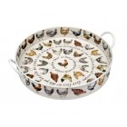 Emma Bridgewater Hens Steel Tray with Handles