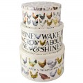 Emma Bridgewater Hen & Toast Set of 3 Round Cake Tins