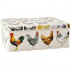 Emma Bridgewater Hen & Toast Deep Rectangular Tin
