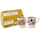 Emma Bridgewater Hen & Toast Set of 2 1/2 Pint Mugs