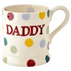 Emma Bridgewater Polka Dot Daddy 1/2 Pint Mug