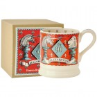Emma Bridgewater Queen's Birthday Unicorn & Lions 1/2 Pint Mug