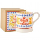 Emma Bridgewater Queen's Birthday 1/2 Pint Mug