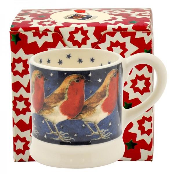 Robin In A Starry Night Tiny Mug Emma Bridgewater