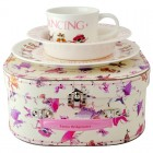 Emma Bridgewater Dancing Mice Melamine Gift Set Suitcase