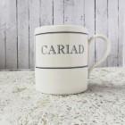 Cariad Fine Bone China Mug