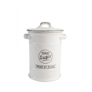 T&G Pride of Place White Sugar Jar