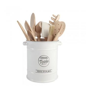 T&G Pride Of Place White Utensil Jar