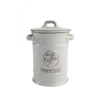 T&G Pride of Place Cool Grey Coffee Jar