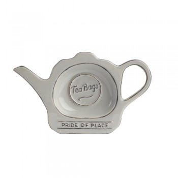 T&G Pride of Place Cool Grey Tea Bag Tidy