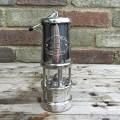 Welsh Miners Lamp Nickel Medium