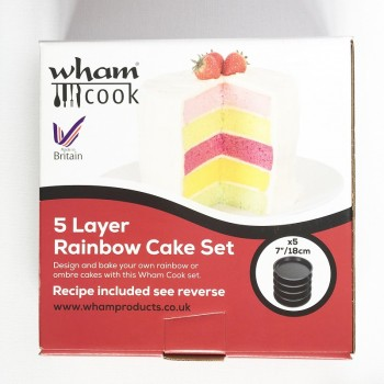5 Layer Rainbow Cake Set