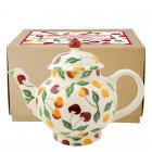 Emma Bridgewater Summer Cherries 4 Mug Teapot