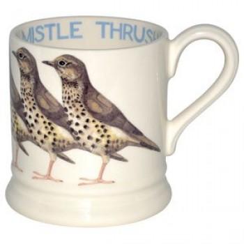 Emma Bridgewater Mistle Thrush 1/2 Pint Mug