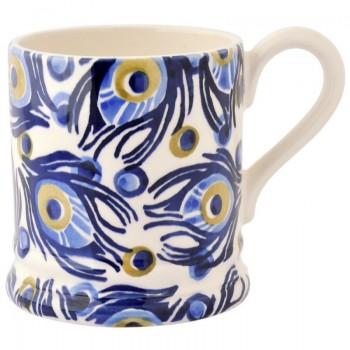 Emma Bridgewater Peacock 1/2 Pint Mug