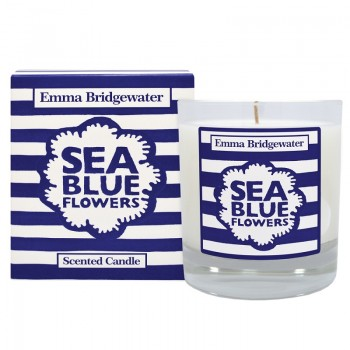 Emma Bridgewater Sea Blue Flowers Scented Candle