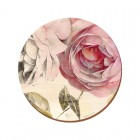 Creative Tops Antique Rose Round Premium Placemats - Pack Of 4