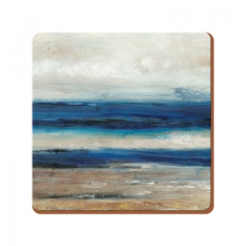 Creative Tops Blue Abstract Premium Coasters - Pack of 6