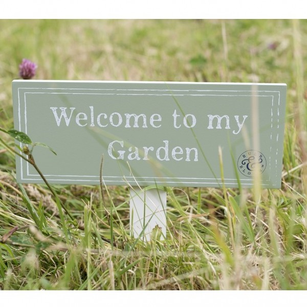 Bulb U0026 Bloom Garden Ground Sign