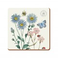 Kew Gardens Meadow Bugs Premium Coasters - Pack of 6