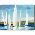 Creative tops Sailing Boats Premium Placemats - Pack of 6