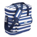 We Love Summer Nautical Striped Medium Cool Bag