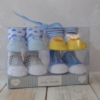 Shruti Baby Socks Set - Blue