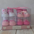 Shruti Baby Socks Set - Pink