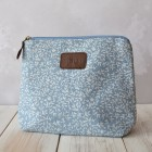 Blue Leaf Wash Bag