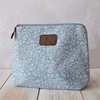 Blue Leaf Wash Bag