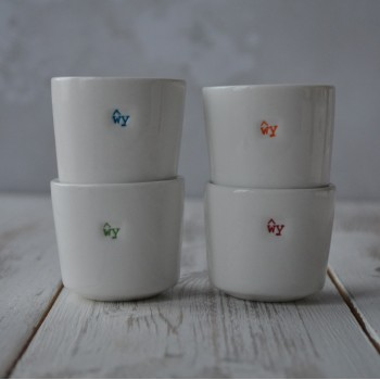 Welsh Word Range Wy  Egg Cup Set