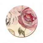 Creative Tops Antique Rose Round Premium Coasters - Pack Of 4