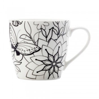 Maxwell & Williams Mindfulness Mug - Butterflies