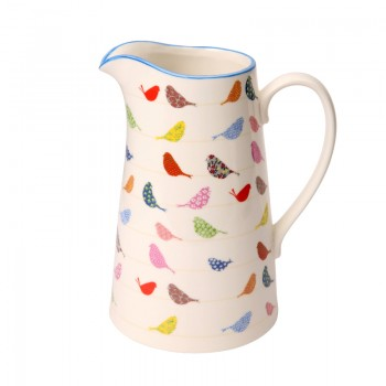 Made With Love Little Birds Large Porcelain Jug