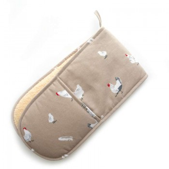 Pecking Order Stone Double Oven Glove
