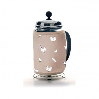 Pecking Order Cafetiere Cosy - Stone