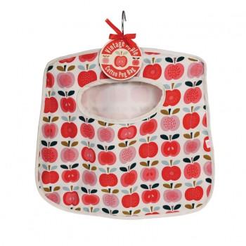 Vintage Apple Peg Bag