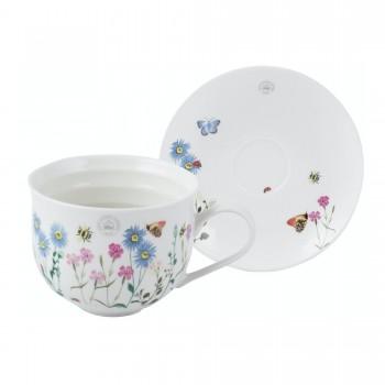 Creative Tops Kew Gardens Meadow Bugs Tea Cup & Saucer
