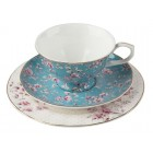 Katie Alice Ditsy Floral Afternoon Tea Set - Teal