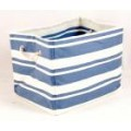 Tobs New England Cream/Blue Stripe  Rectangular Storage Bag