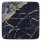 Creative Tops Navy Marble Premium Coaster Set