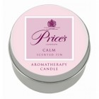 Price's Aromatherapy Tin Candle - Calm