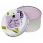 Price's Garden Lavender Scented Tin Candle
