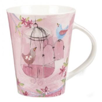 Alex Clark Birdcage Flirt Mug